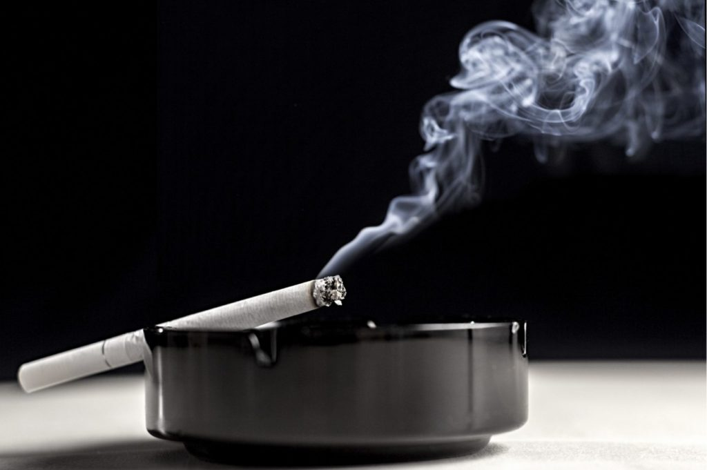 Smoking doubles the life insurance cost