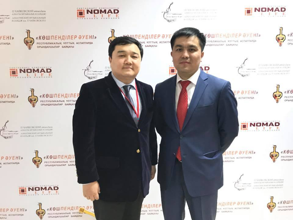 "Kairat Chegebayev: ""Through our projects we try not only to talk about culture, history, and ancestral knowledge, but we also contribute to the development of youth"""