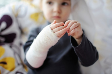 What injuries children suffer most often in Kazakhstan